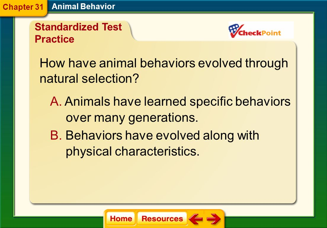 How have animal behaviors evolved through natural selection