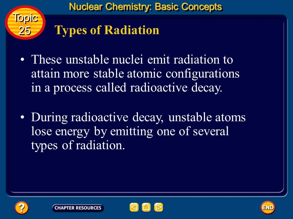 Nuclear Chemistry: Basic Concepts