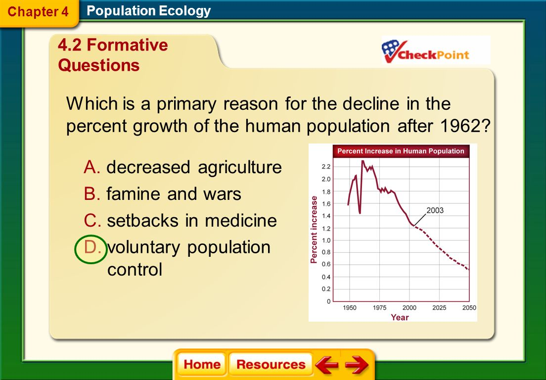 Which is a primary reason for the decline in the