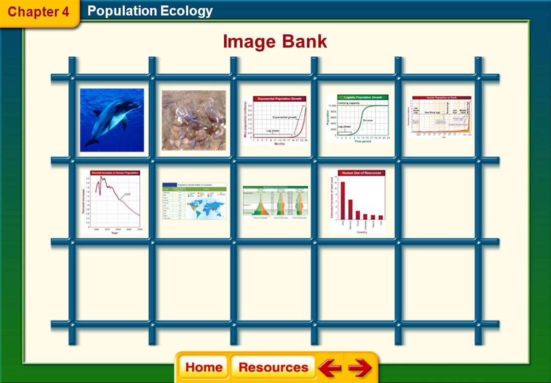 Chapter 4 Population Ecology Image Bank