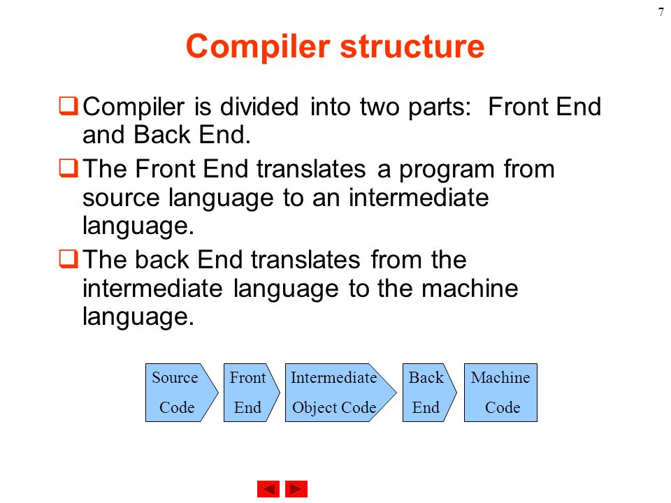 CSC 338: Compiler design and implementation - ppt download