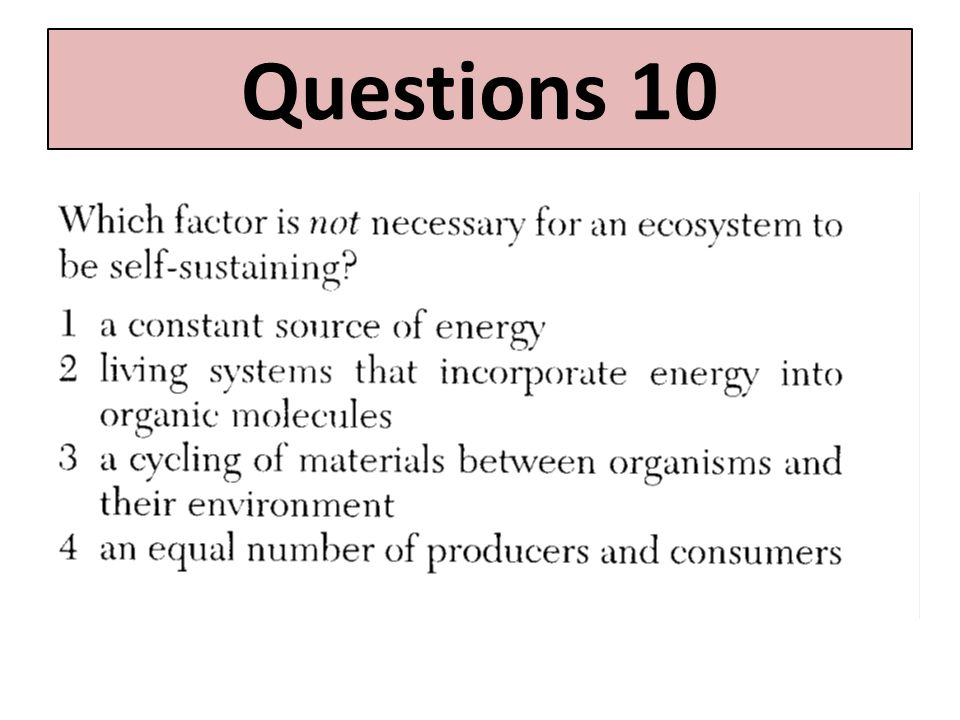 Questions 10