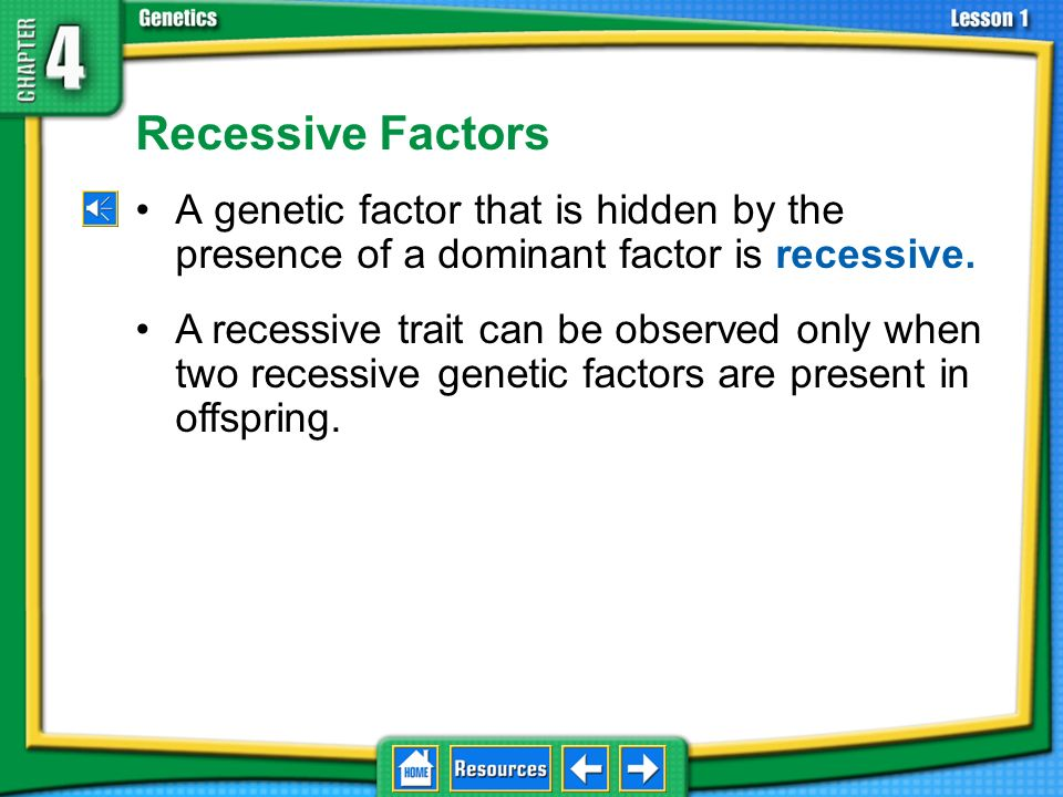 4.1 Foundations of Genetics