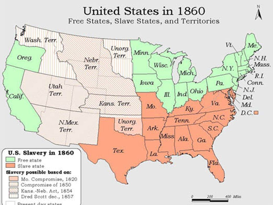 chapter 19 the civil war ppt video online download 960x720 border state civil war secession states slavery map 560x406