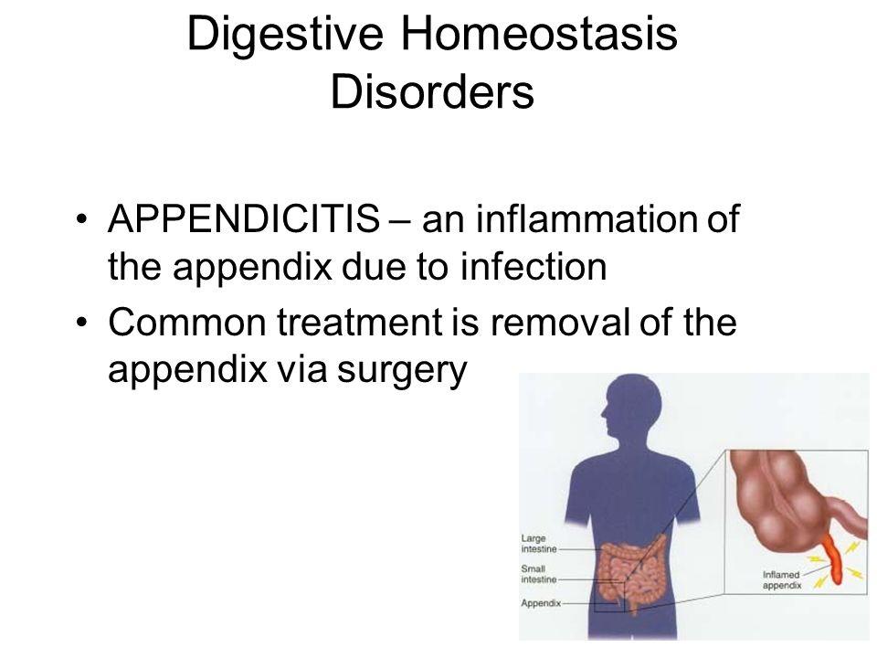 Digestive Homeostasis Disorders