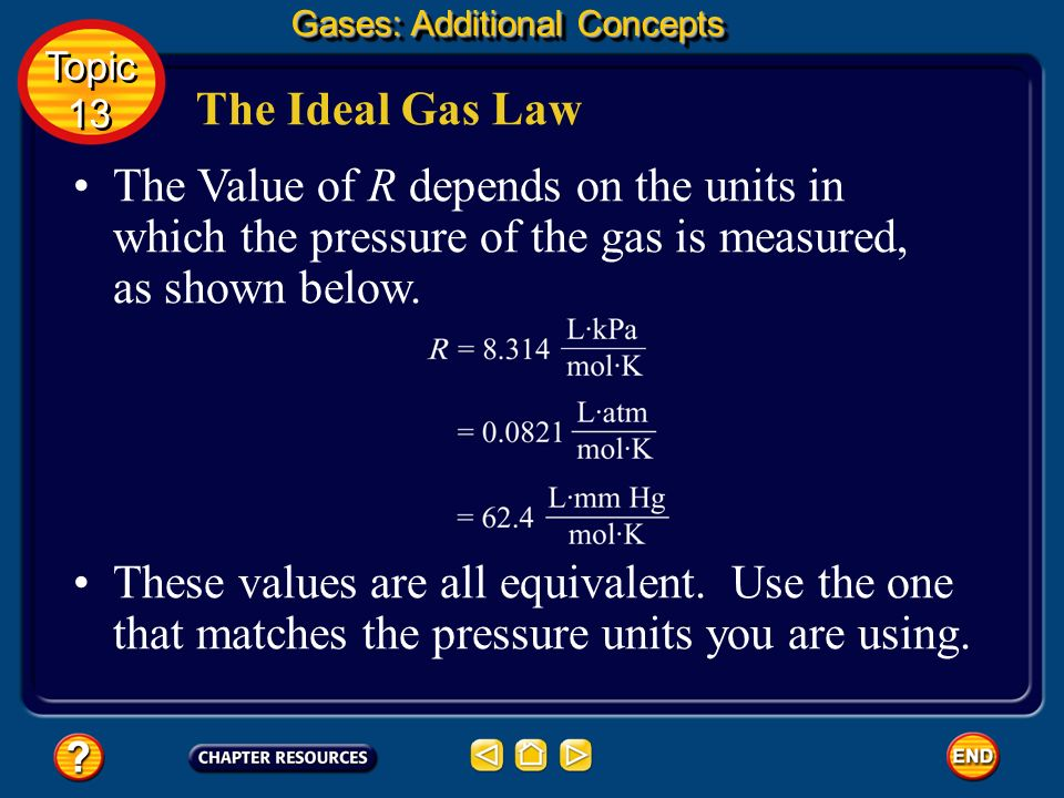 Gases: Additional Concepts