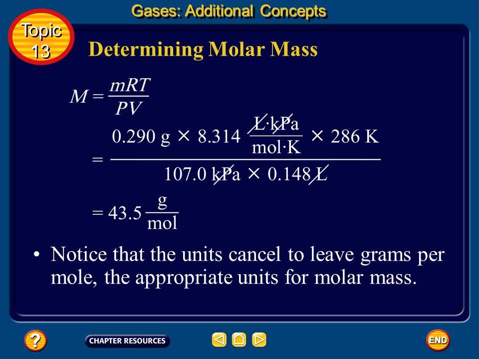 Determining Molar Mass