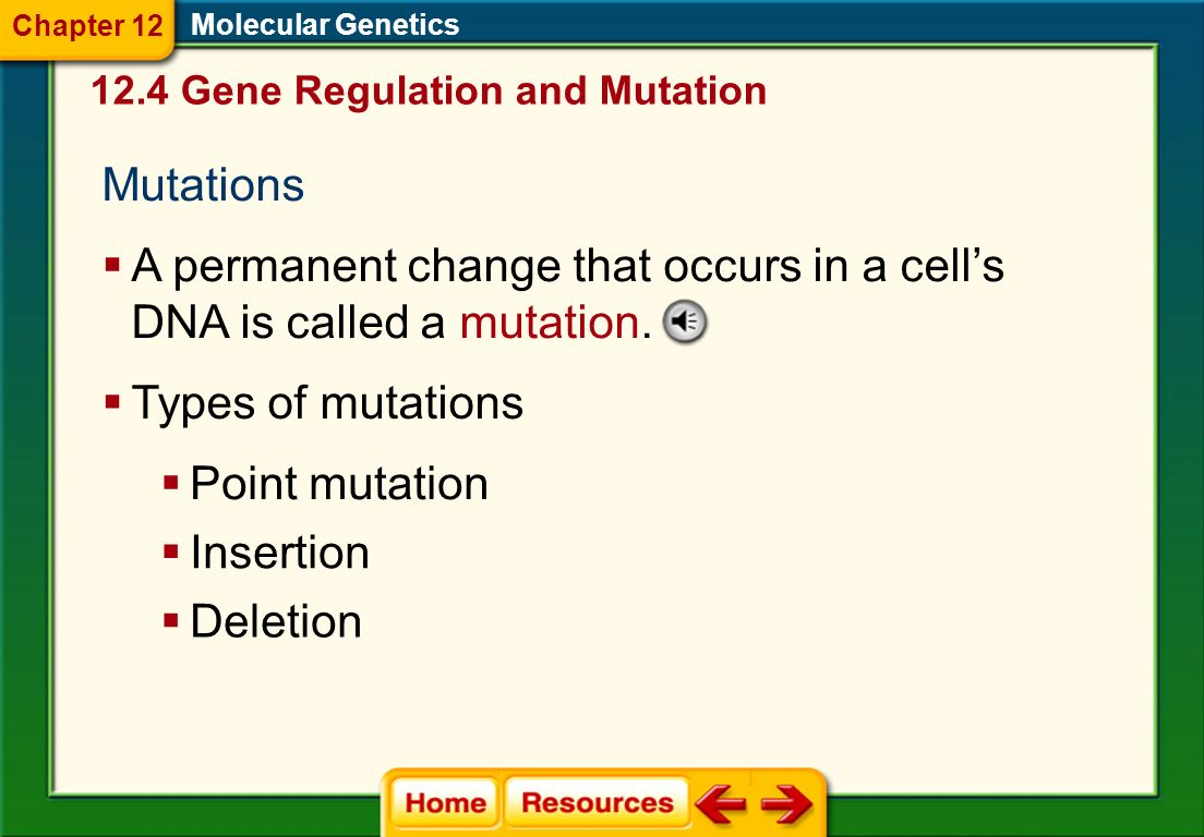A permanent change that occurs in a cell's DNA is called a mutation.