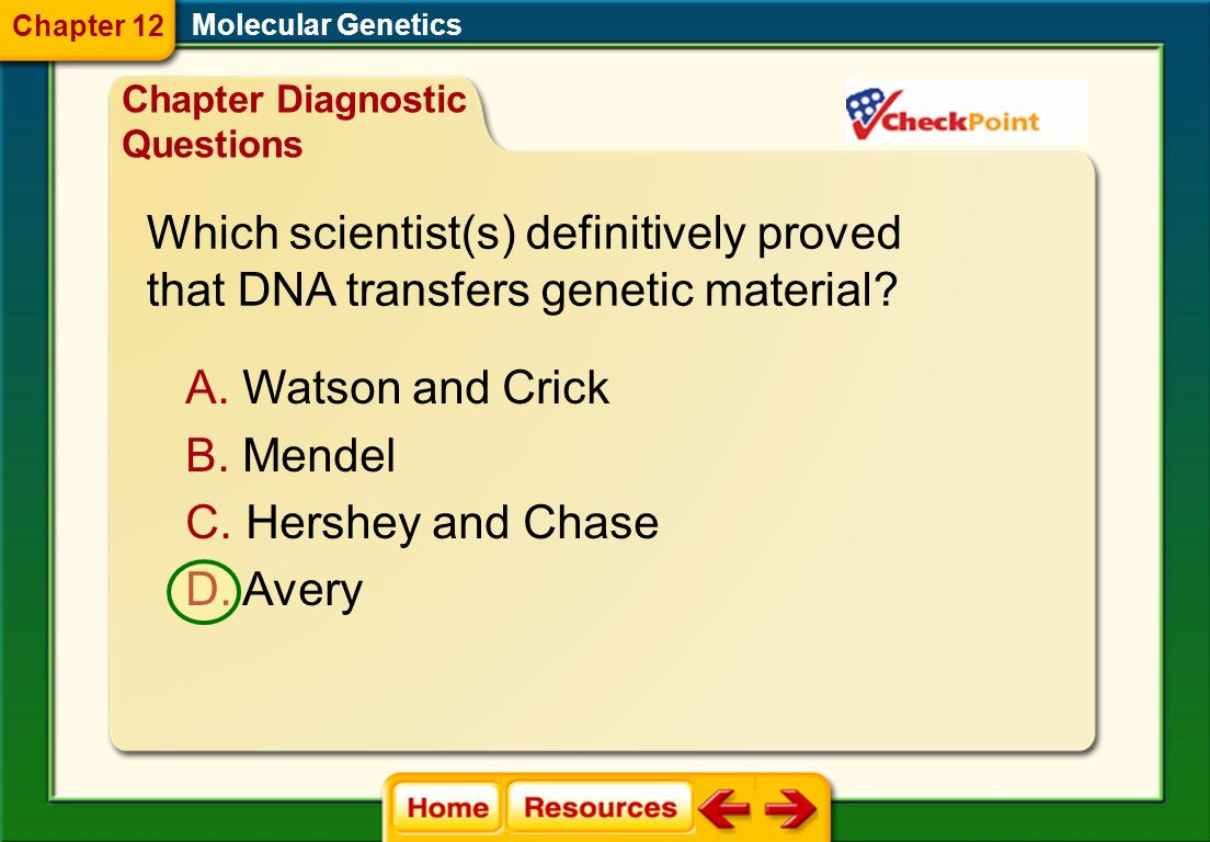Which scientist(s) definitively proved