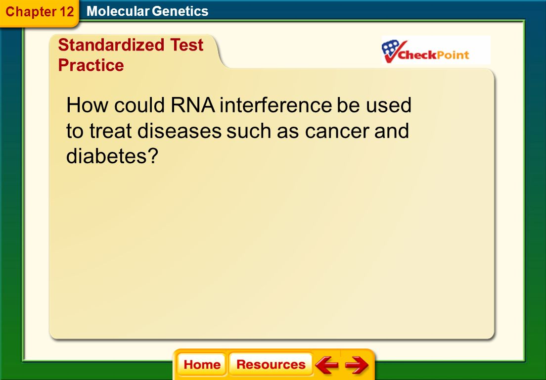 How could RNA interference be used
