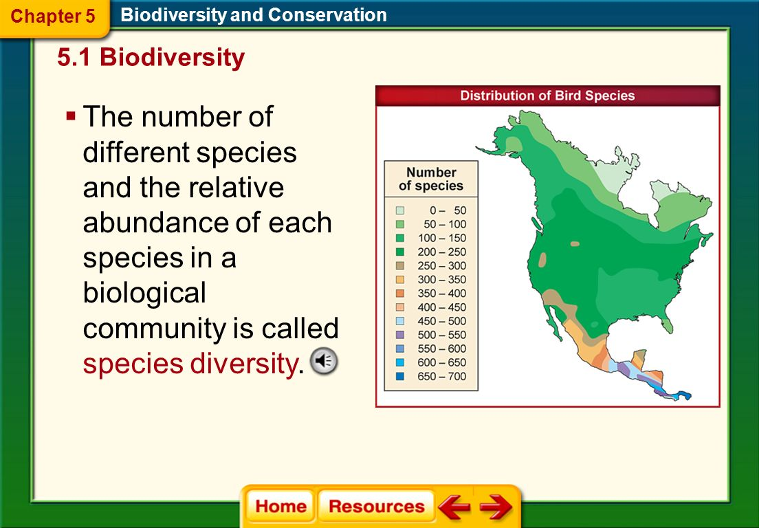 Chapter 5 Biodiversity and Conservation. 5.1 Biodiversity.