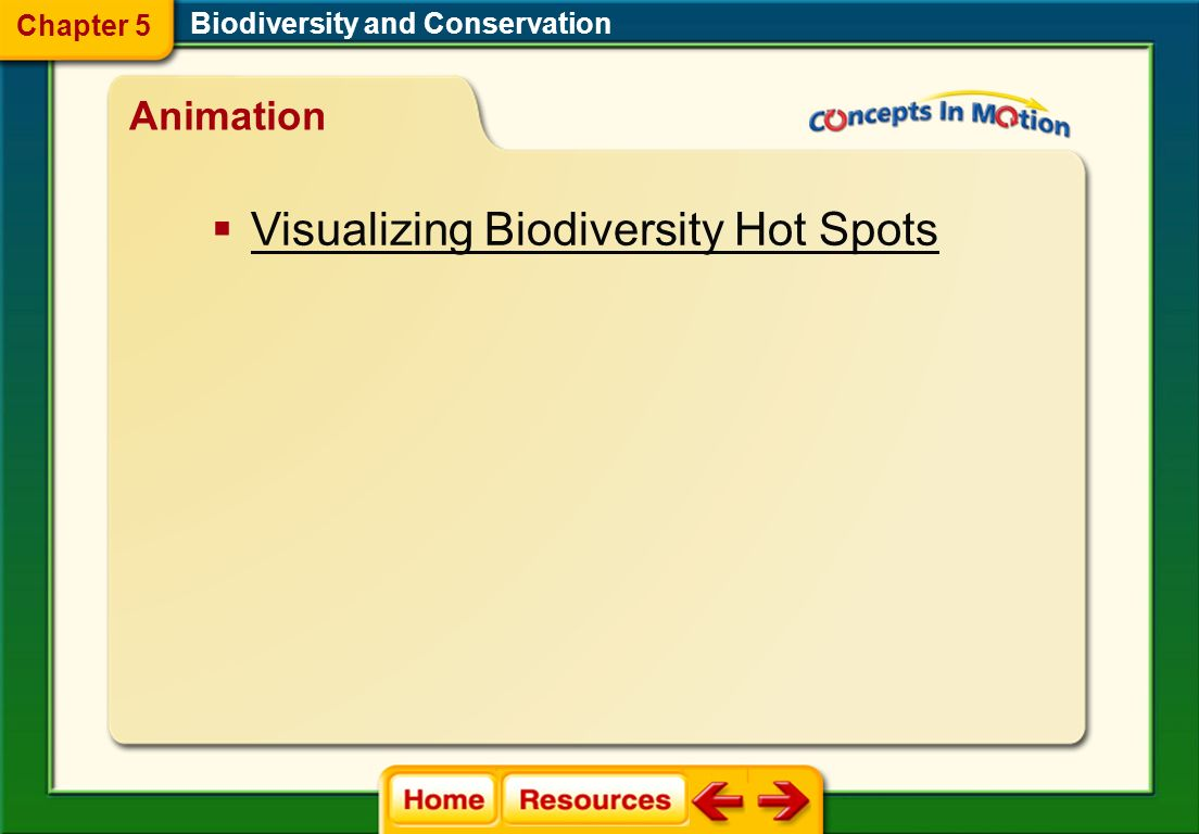 Visualizing Biodiversity Hot Spots