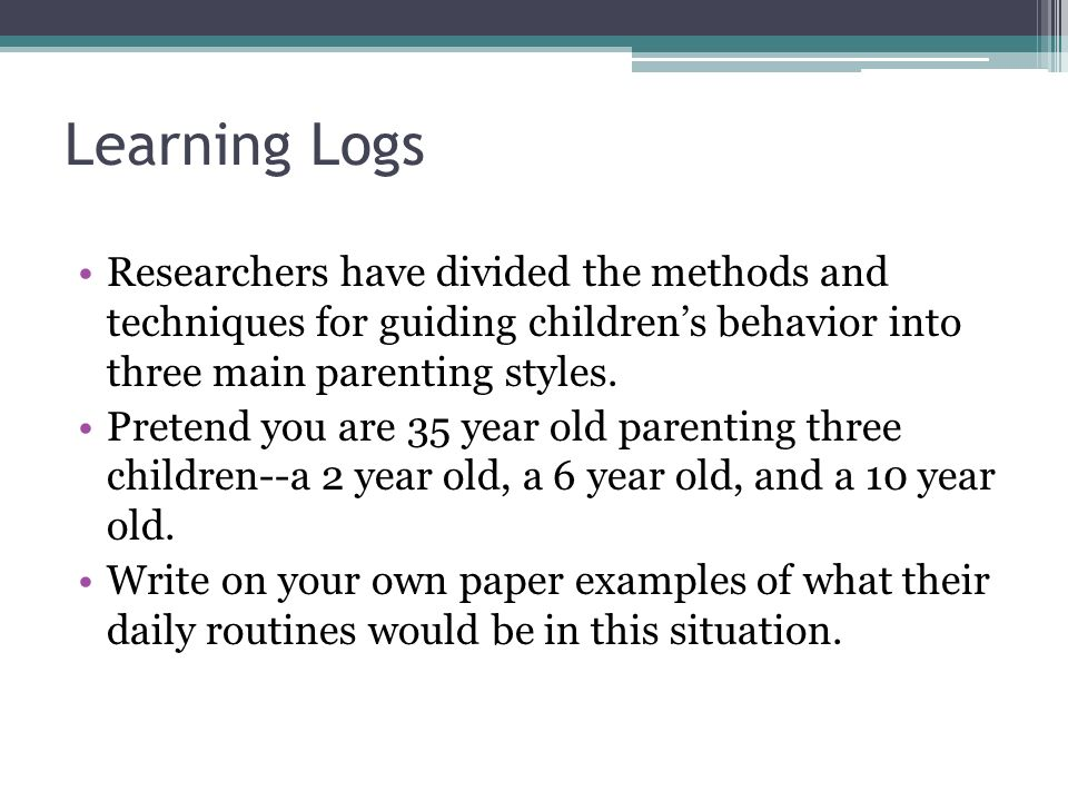 Pcd Chapter 3 Objective 5.03 Exemplify Parenting Styles And