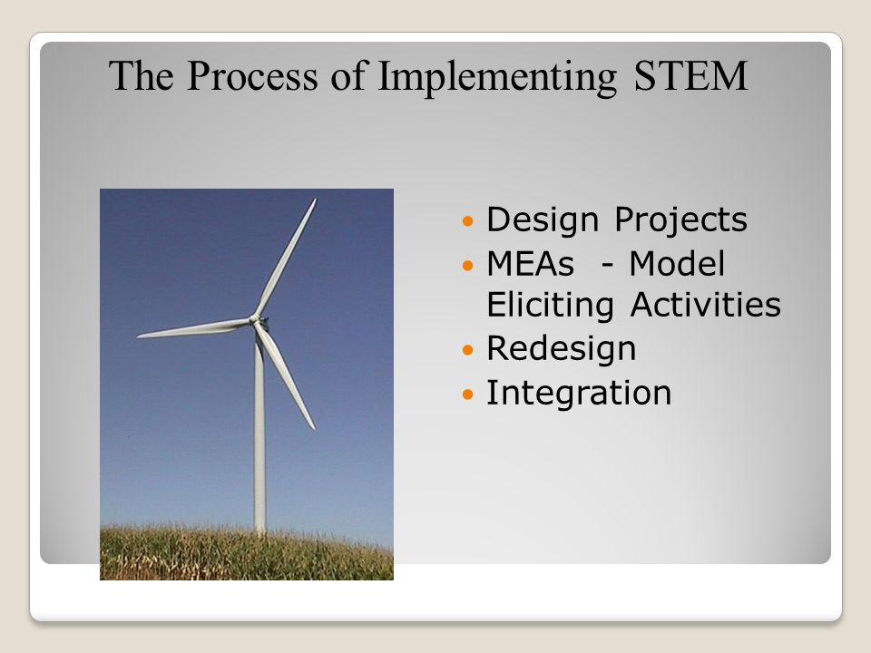 The Process of Implementing STEM