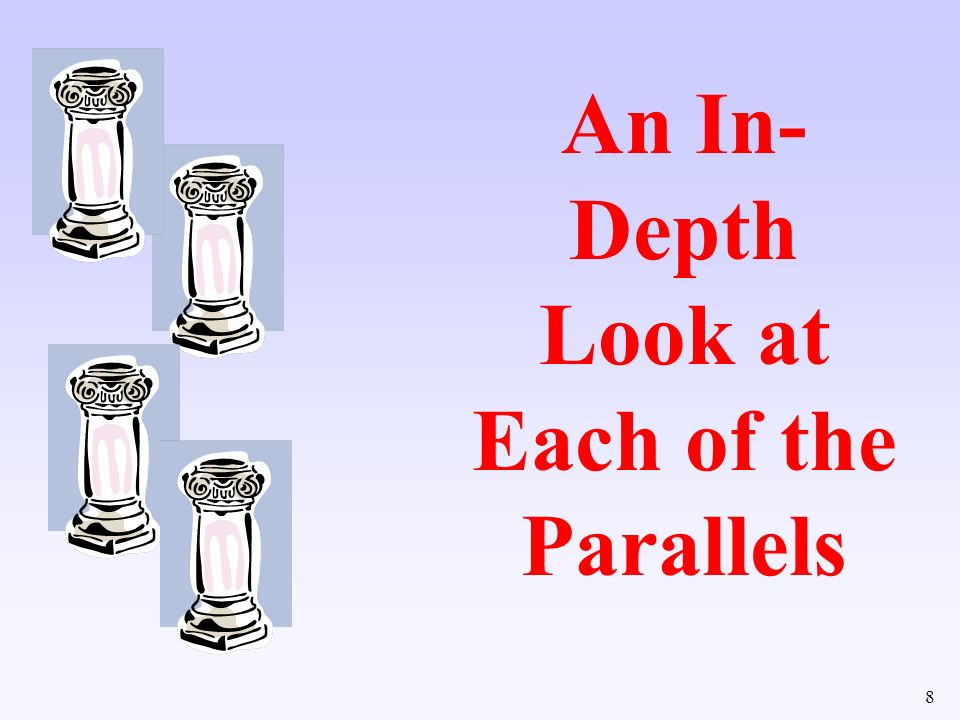 An In-Depth Look at Each of the Parallels