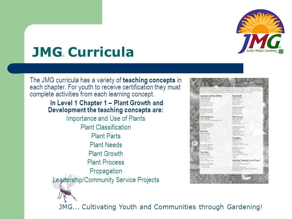 JMG® Curricula