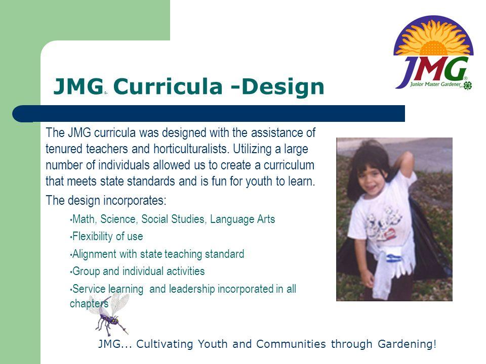 JMG® Curricula -Design