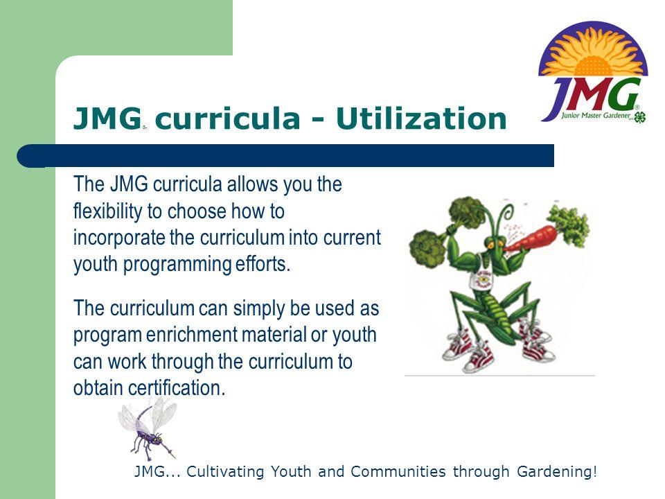 JMG® curricula - Utilization