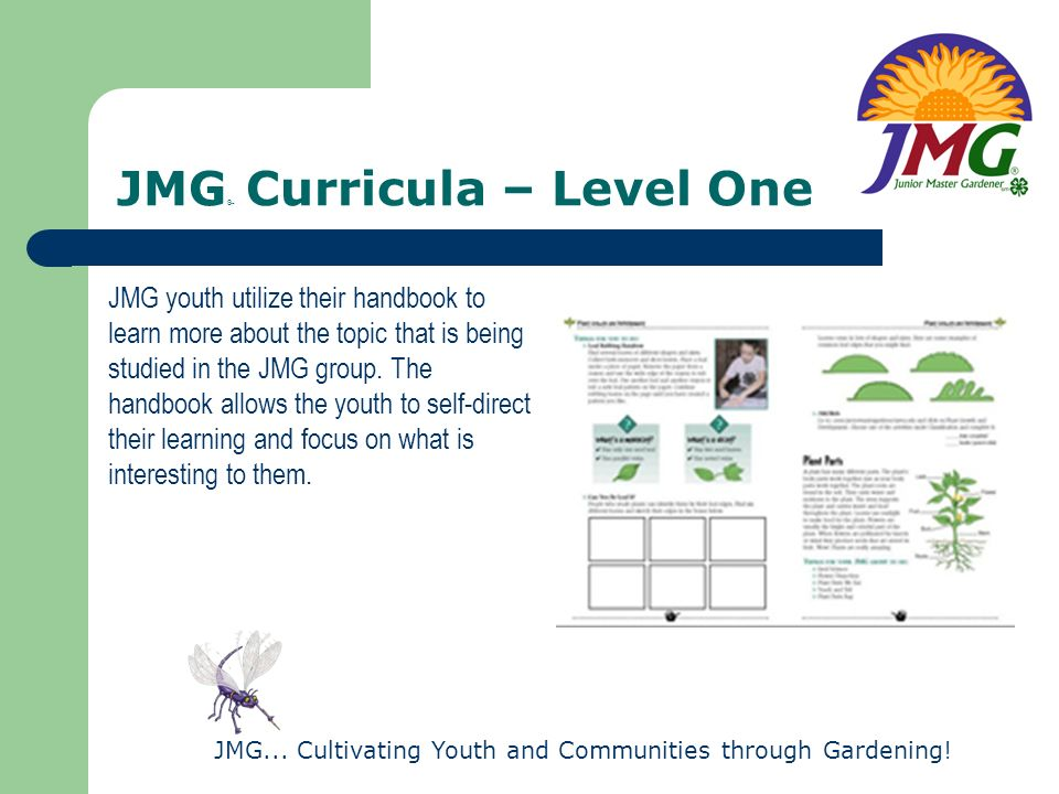 JMG® Curricula – Level One