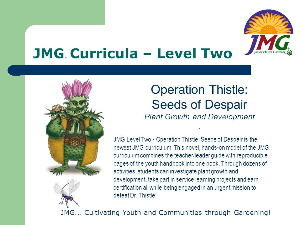 JMG® Curricula – Level Two