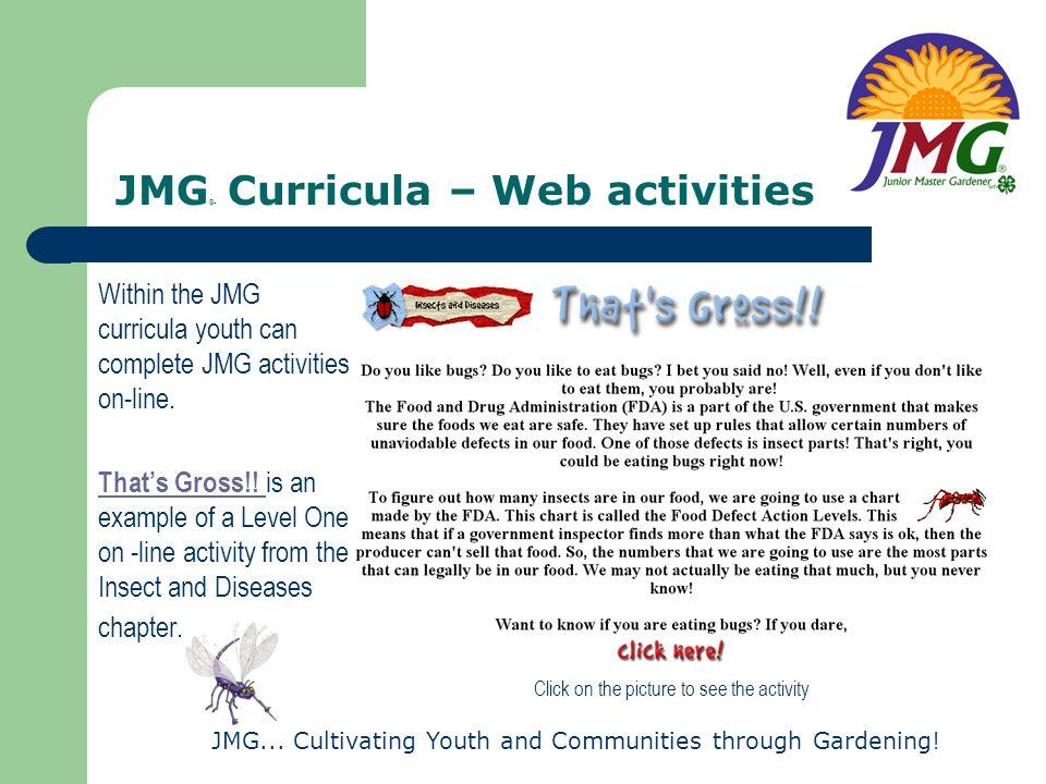 JMG® Curricula – Web activities