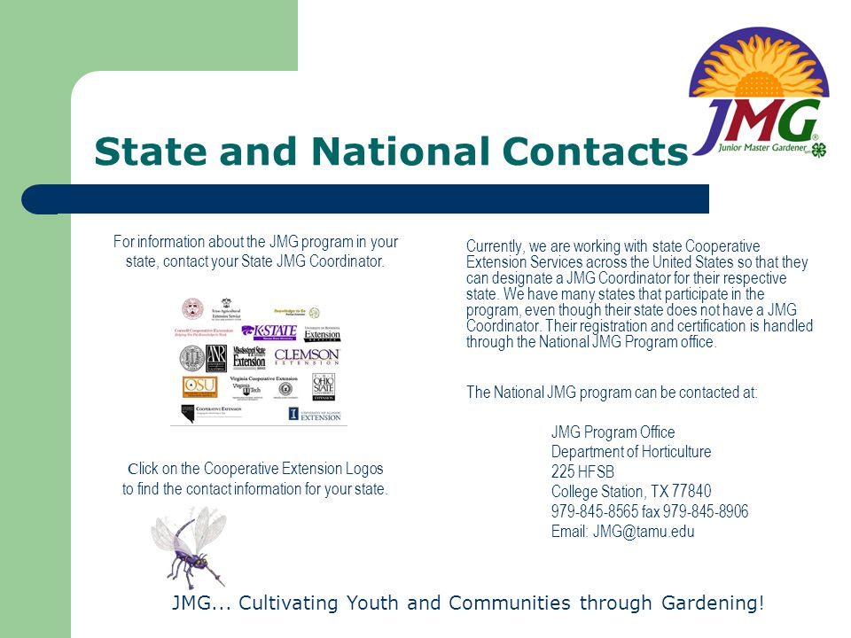 State and National Contacts