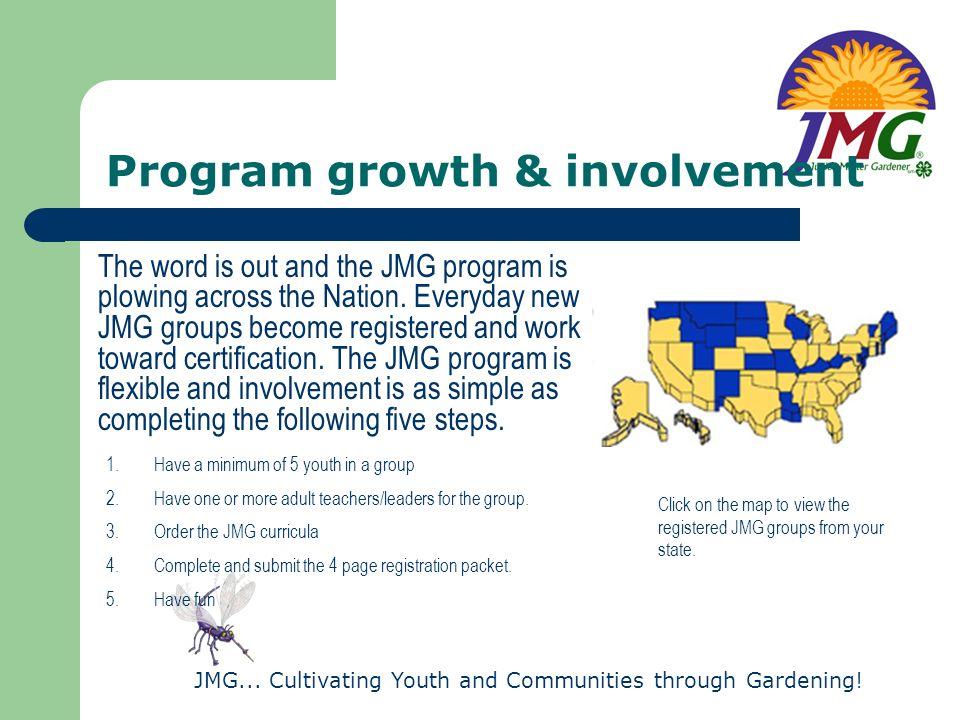 Program growth & involvement