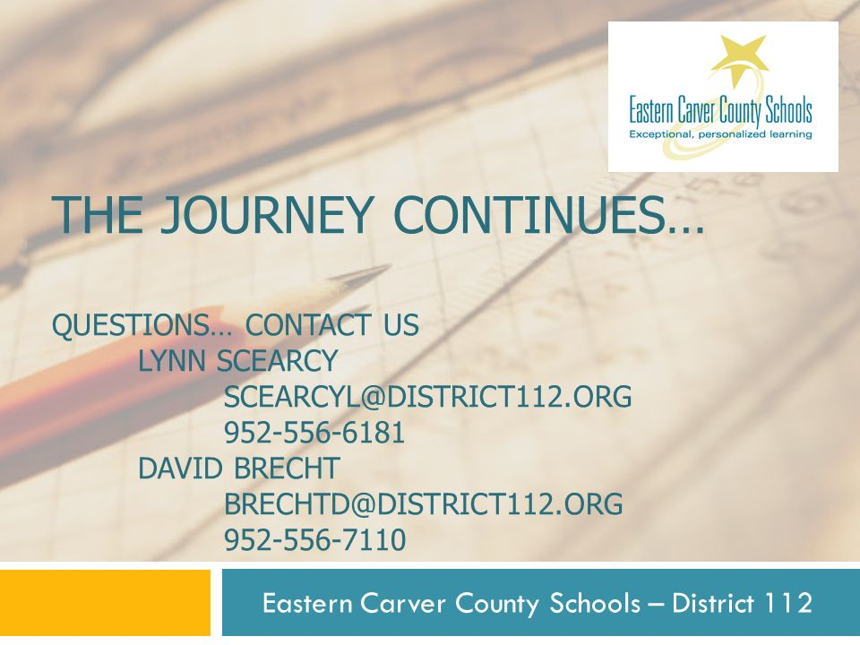 Eastern Carver County Schools – District 112