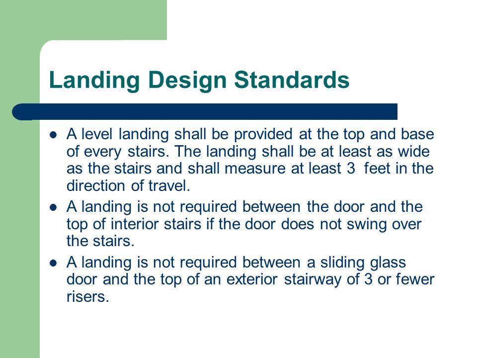 Landing Design Standards