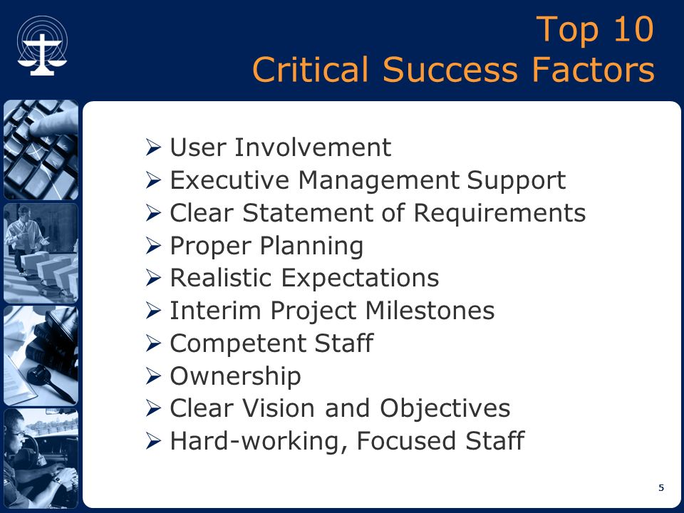 What are Critical Success Factors in Project Management?