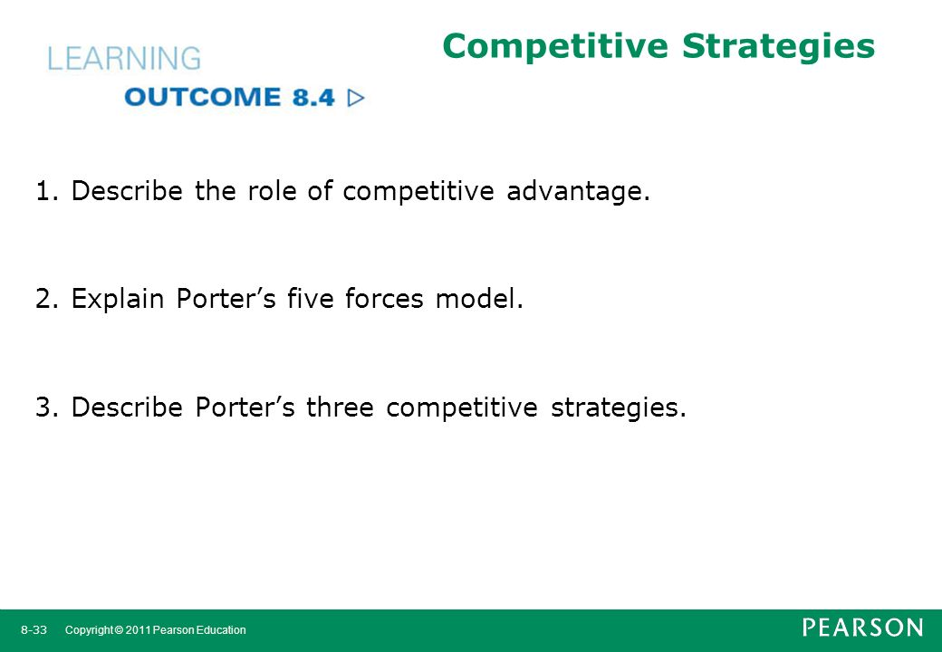 Management arab world edition robbins coulter sidani - Porter s model of competitive advantage ...
