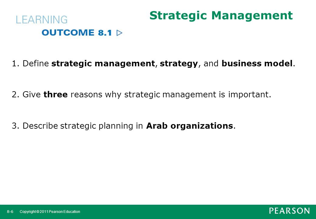 why strategic management is important to Share the importance of building an information security strategic plan on twitter share the importance of building an information security strategic plan.