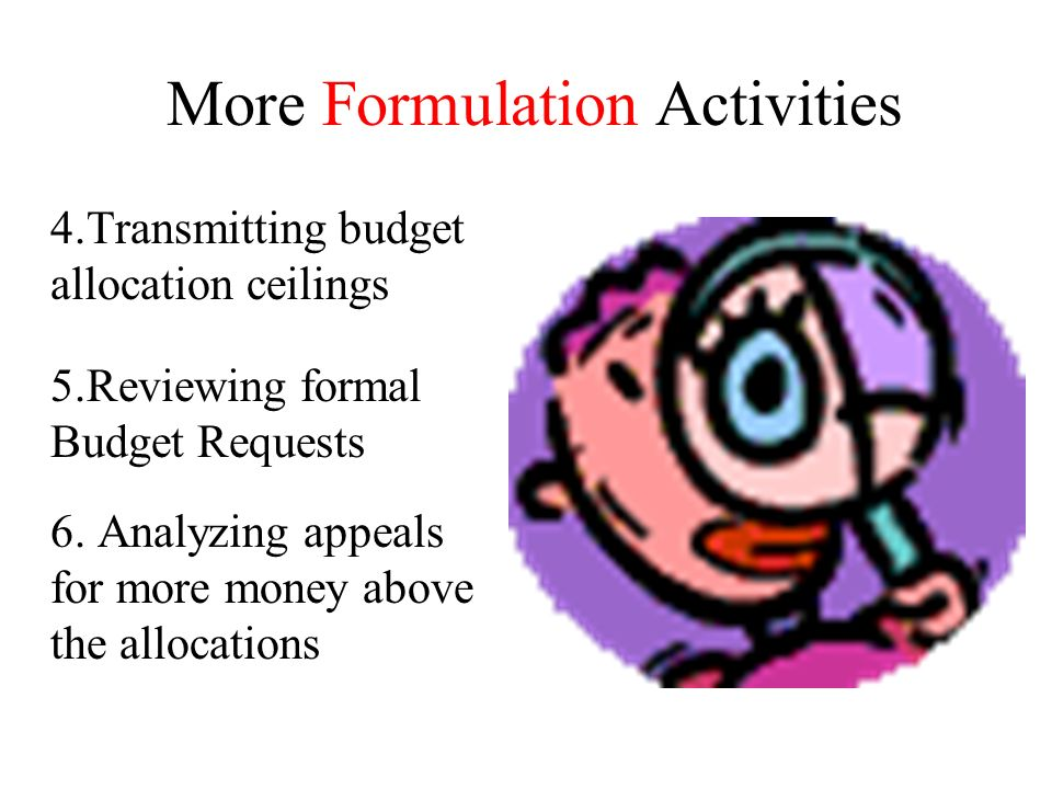 More Formulation Activities