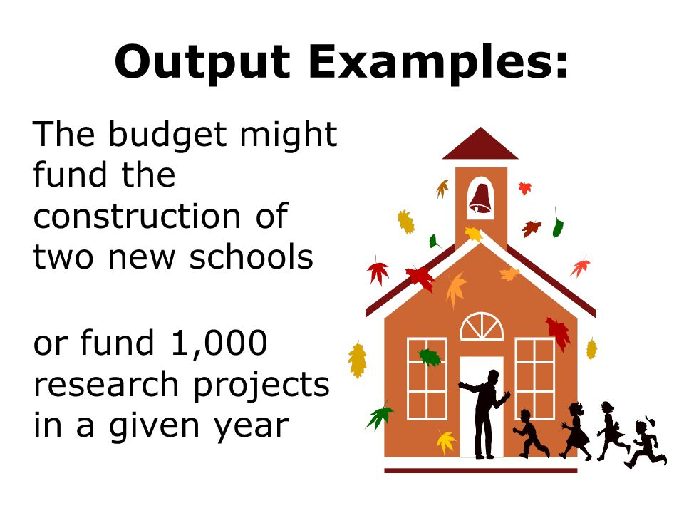 Output Examples: or fund 1,000 research projects in a given year