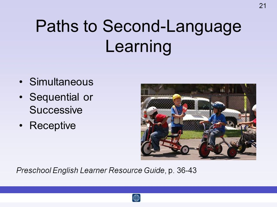 Paths to Second-Language Learning