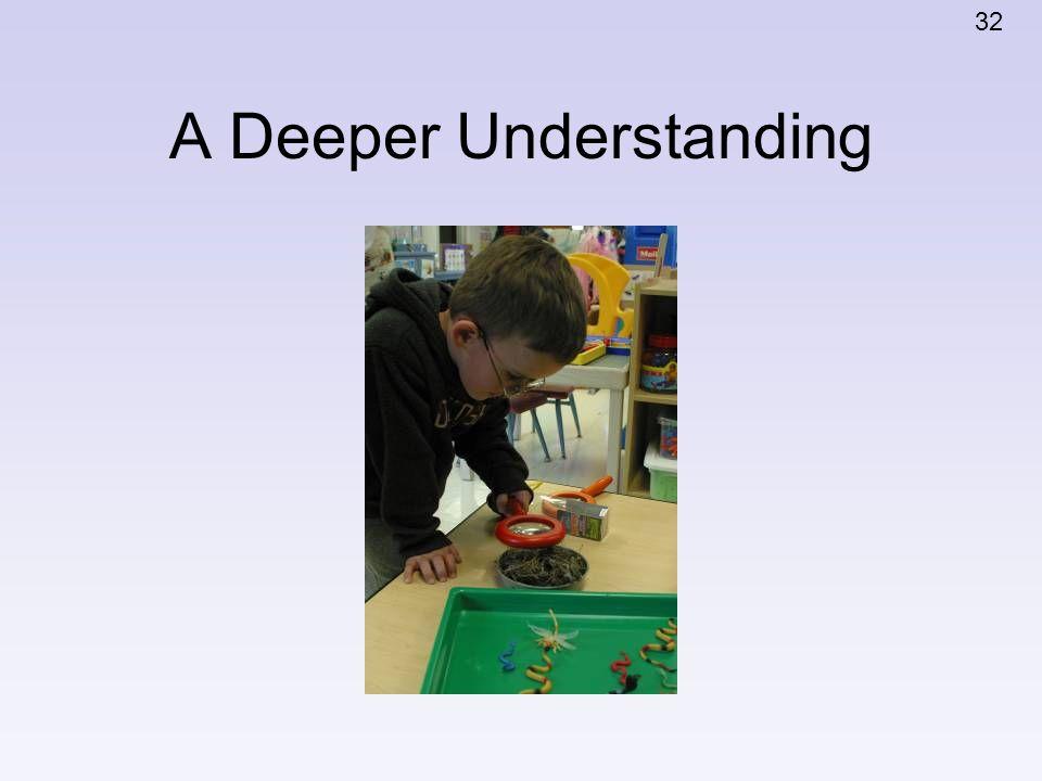 A Deeper Understanding