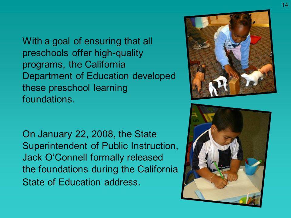 california state preschool california preschool learning foundations ppt 640