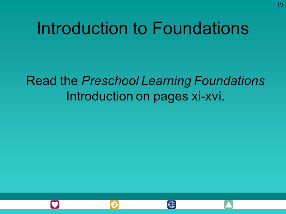 Introduction to Foundations