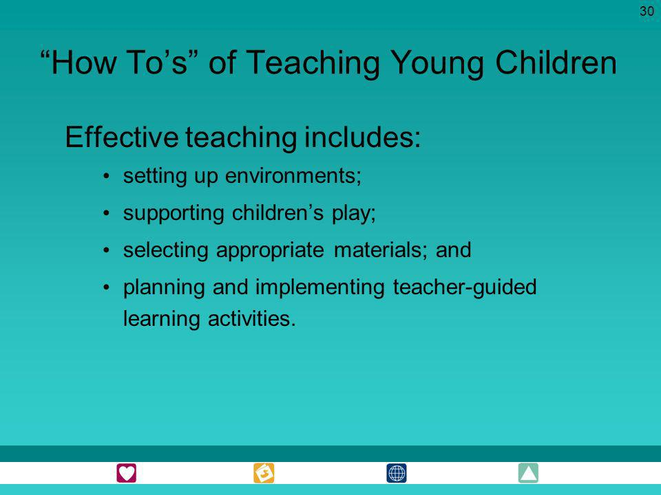How To's of Teaching Young Children