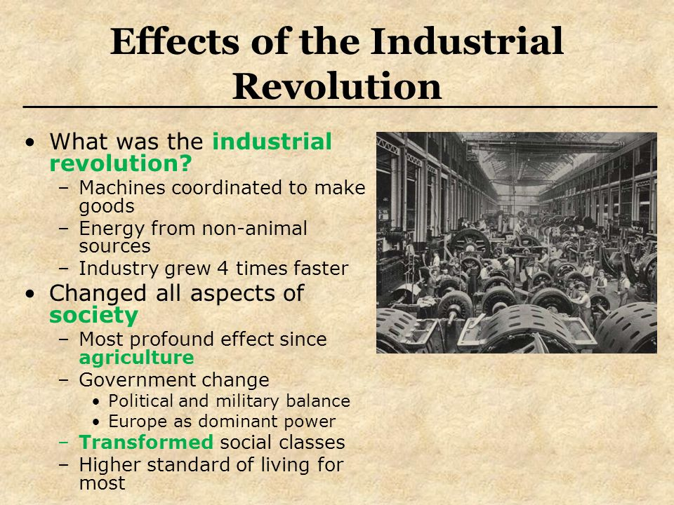 the effects of the industrial revolution on europe Get information, facts, and pictures about industrial revolution at encyclopedia com  the rapidity of these changes and their far-reaching effects amply justify   though it lacked factories and steam engines, pre-industrial europe did not.