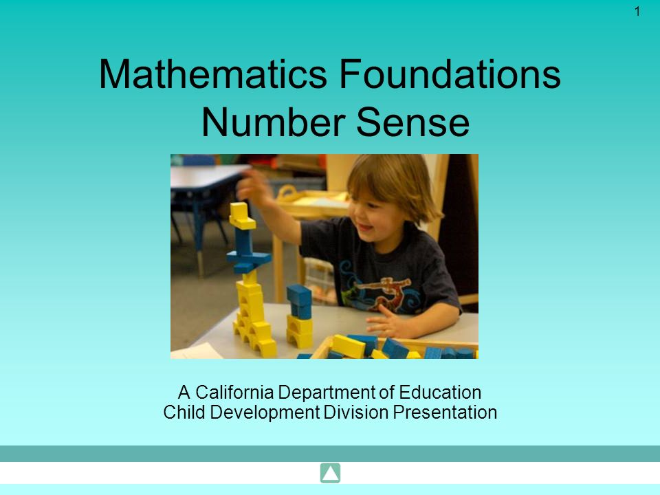 Mathematics Foundations Number Sense