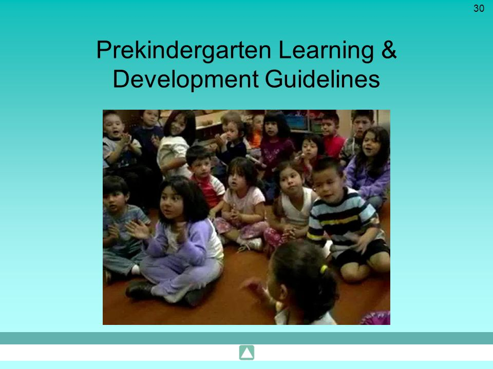 Prekindergarten Learning & Development Guidelines