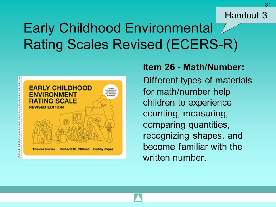 Early Childhood Environmental Rating Scales Revised (ECERS-R)