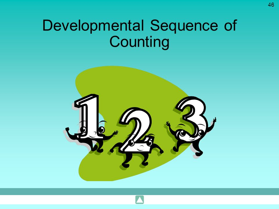 Developmental Sequence of Counting