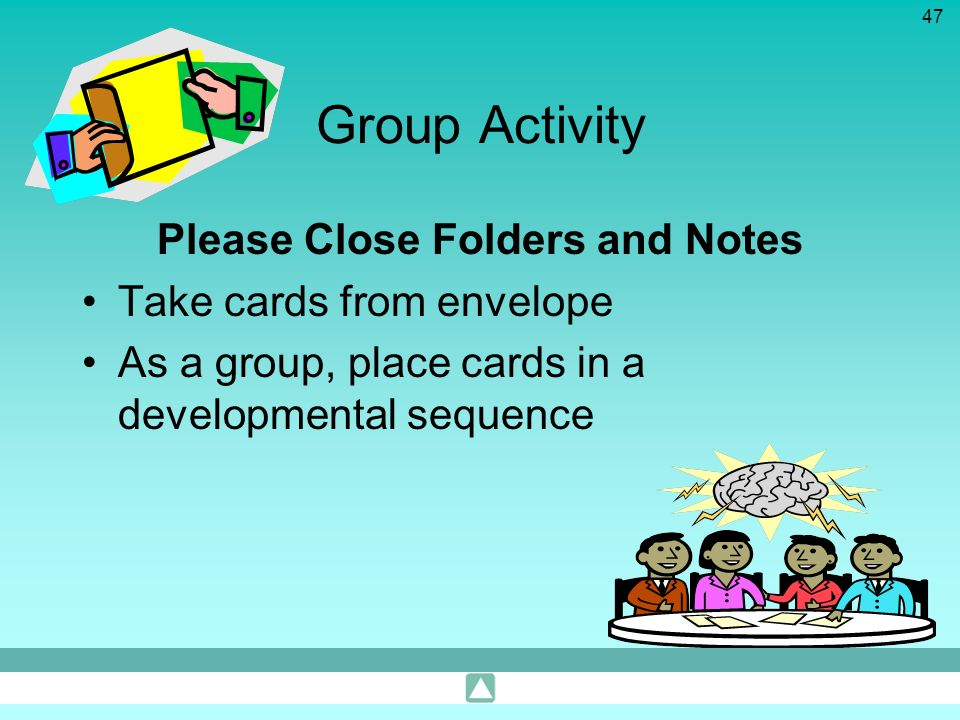 Please Close Folders and Notes