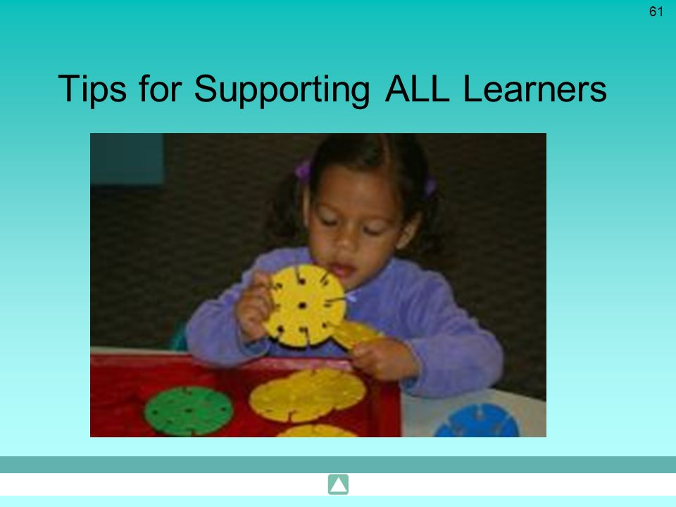 Tips for Supporting ALL Learners