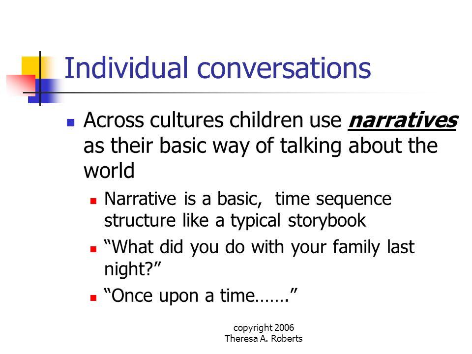 Individual conversations