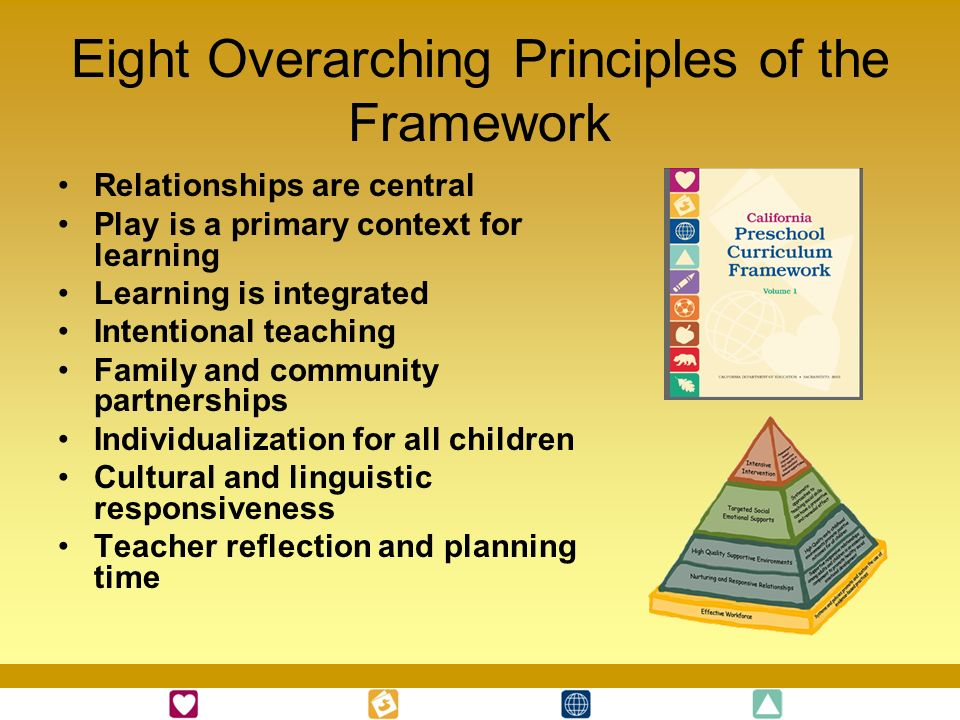 Eight Overarching Principles of the Framework