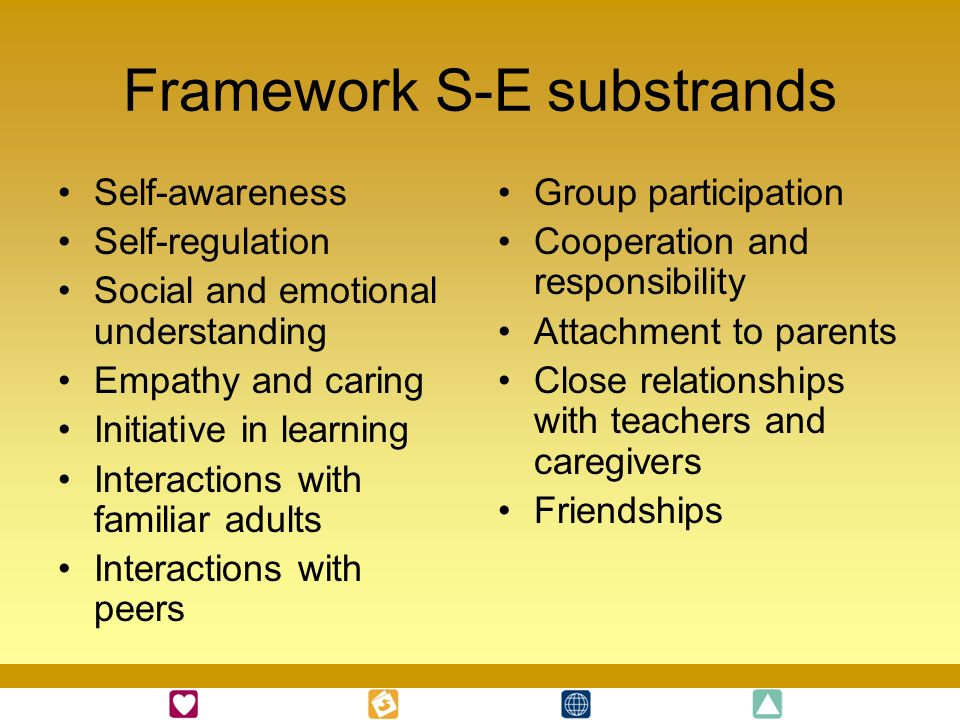 Framework S-E substrands
