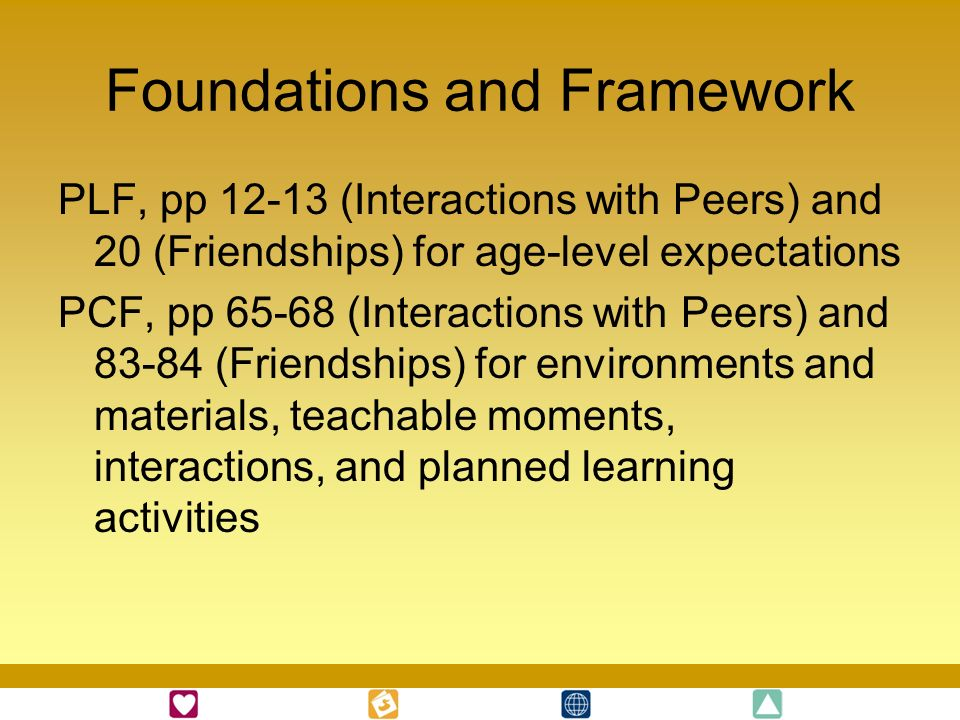 Foundations and Framework